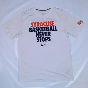 Nike Syracuse Basketball Dri-Fit T shirt large